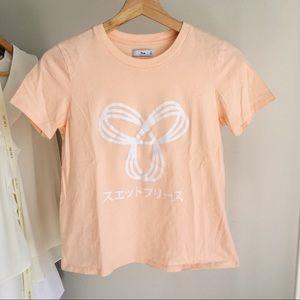 TNA Peach Coloured T Shirt